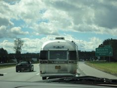 Airstream on the road Airstream, Travel Trailers