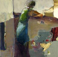 Linda Christensen -- figurative abstract