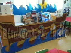 Image detail for -Pirates | Display board ideas.