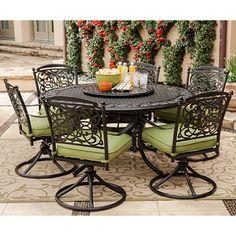 patio furniture by renaissance | Renaissance Outdoor Patio Dining Set - 9 pc. - Sam's Club