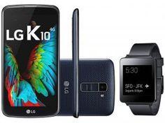 Este smartwatch da LG é um excelente dispositivo para quem quer estar sempre conectado e não gosta de perder absolutamente nada que acontece online. Compre agora: Smartphone + Smartwatch!! https://www.magazinevoce.com.br/magazinevipchic/p/relogios-watch-e-smartwatch/3441555/smartphone-lg-k10-tv-16gb-dual-chip-4g-cam-13mp-selfie-8mp-tela-53-smartwatch-lg-g-watch/138604/