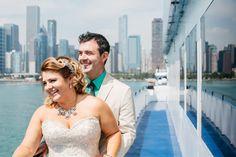 Intimate Boat Wedding // Chicago, IL // Perregeaux Wedding Photography