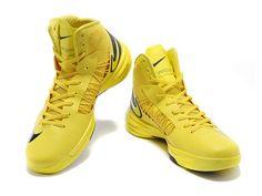 Nike Lunar Hyperdunk 2013 Basketball Shoes Yellow Black for Men Nike Lebron, Sneakers For Sale, High Top Sneakers, Women's Sneakers, Yellow Sneakers, Shoe Sites, Sneaker Stores, Nike Lunar