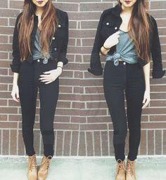 all I'm missing is a black jean jacket