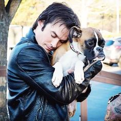 I want Ian to hold me like that if you know what I mean
