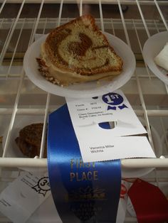 Here are some of the recipes I've won ribbons for since I started participating in the Kansas state fair competitions in 2009. Blue Ribbons (1st place) Almond Fudge Cookies (2 blue ribbons