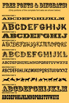 Free Western Fonts http://www.andynortnik.com/cd_wildwest.htm