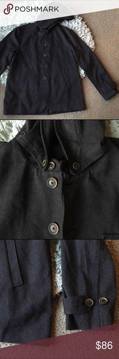 Oliver Spencer men's overcoat Sz 44 removable hat In excellent condition minimal ware removable hat/hood Oliver Spencer Jackets & Coats Pea Coats