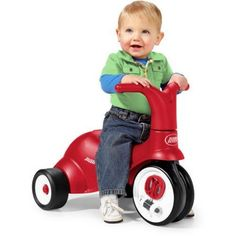 [Toy Storage Ideas] Scoot 2 Pedal 2-in-1 Ride-On/Trike With Ergonomically Contoured Seat By Radio Flyer *** Find out more about the great product at the image link. (This is an affiliate link) #ToyStorageIdeas
