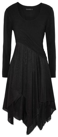 black pixie dress <3