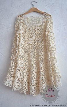 New crochet sweater lace inspiration Ideas Irish Crochet, Crochet Lace, Crochet Stitches, Crochet Patterns, Crochet Tops, Gilet Crochet, Crochet Cardigan, Black Crochet Dress, Lace Sweater