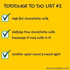Toddler To Do list #2