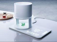 futuristic food printer. new-tech