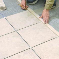 DIY Basics: Laying Tile