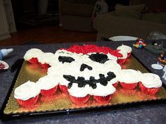 I probably could do this my self for his yo ho yo ho im turning 2 years old!