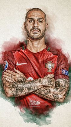 Soccer Art, Soccer Poster, Football Art, World Football, Portugal Football Team, Portugal Soccer, Cristiano Ronaldo Hd Wallpapers, Juventus Soccer, Sketches