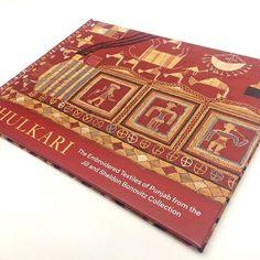 Phulkari : The Embroidered Textiles Of Punjab From Jill And Sheldon Bonovitz Collection. At @philamuseum  12 March 2017 - 9 July 2017  #phulkari #philamuseum #exhibition #book #catalogue #museum #bonovitz #textiles #punjabi #art #manishmalhotra #pakistan #philadelphia #quality #print #printers #contitipocolor #follow #picoftheday #photo