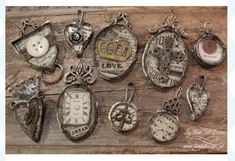 Stampings with Soft Solder, Swellegant & Vintaj Patinas Love this image from Have Faith Designs!Love this image from Have Faith Designs! Soldering Jewelry, Resin Jewelry, Jewelry Crafts, Jewelry Art, Vintage Jewelry, Handmade Jewelry, Jewelry Design, Jewelry Ideas, Designer Jewelry