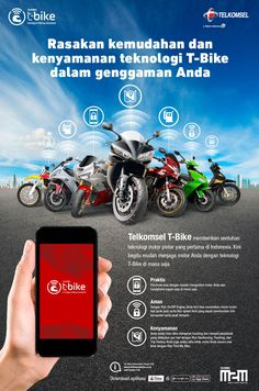 """Check out my @Behance project: """"Tbike - M2M - Telkomsel"""" https://www.behance.net/gallery/34060836/Tbike-M2M-Telkomsel"""