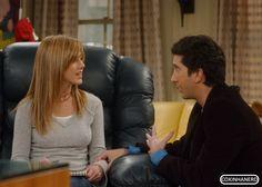 Os beijos e casais super pops que amamos - Rachel e Ross