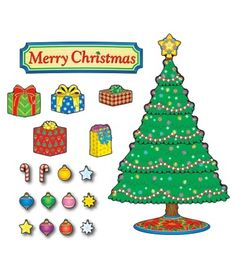 Christmas Tree Bulletin Board Set - Carson Dellosa Publishing Education Supplies #CDWishList