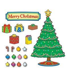 Christmas Tree Bulletin Board Set - Carson Dellosa Publishing Education Supplies #CDWishList