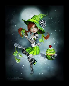 LittleDesign: Candy Witch