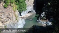 """Places to see in ( Castiglione di Sicilia - Italy ) Le Gole dell'Alcantara  Le Gole dell'Alcantara ( Castiglione di Sicilia - Italy ) The Alcantara Gorges  also known as """"Gole of Larderia"""" are located in the Alcantara Valley in Sicily where it ends the mountain range of Peloritani.  Are of high gorges up to 25 meters wide and 2 meters in the narrowest and widest points 4-5 meters. the natural canyon contrary to popular belief was not excavated over thousands of years by water.  Le Gole…"""