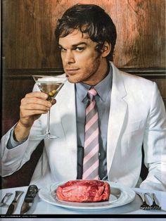 Michael C. Hall. A.K.A. Dexter!!