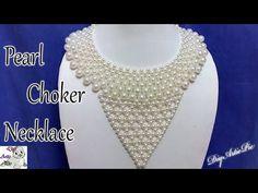 #56 How to make Pearl Beaded Bracelet or Bangle || Diy || Jewellery Making - YouTube