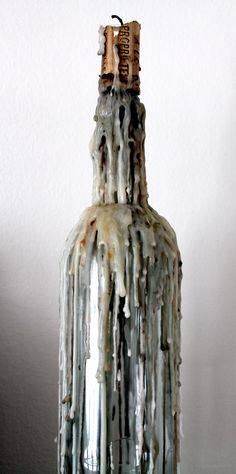 Drip candle bottle