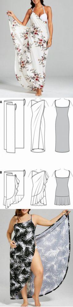 Sewing Summer Dresses, Diy Summer Clothes, Diy Clothes, Dress Sewing Patterns, Clothing Patterns, Sewing Clothes Women, Altering Clothes, Sewing Tutorials, Dressmaking