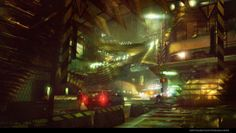 Concept Artist Levi Hopkins presents a stunning collection of concept art he's created for Sucker Punch PS4 game, Infamous Second Son http://www.dailymotio