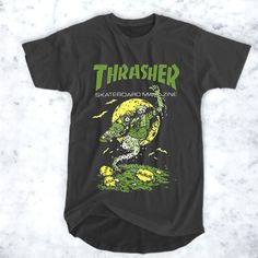 awesome Thrasher The Devil T-Shirt for Men and Women