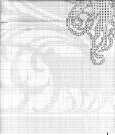 Borduurpatroon Kruissteek Mucha *Embroidery Cross Stitch Pattern ~Byzantine Heads: BRUNETTE (1897) 16/18~