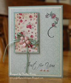 6th of 6 beautiful OSW cards by Kathy Roney!