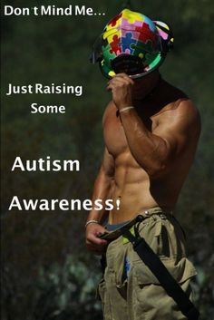 Firefighters for autism awareness  ;)