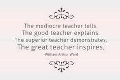 LOVE THIS!!! i want to be a teacher that inspires