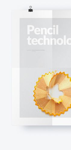 Poster layout design - Pencil Technology