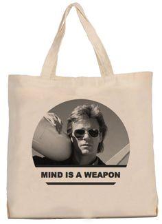 Mac Gyver tote bag by Coolandthebag on Etsy, €15.00