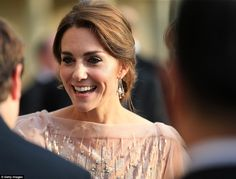 Duchess of Cambridge recycles a £3,000 Jenny Packham gown