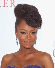 The Best Celeb Natural Updos