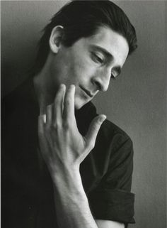 Adrian Brody by Richard Phibbs.