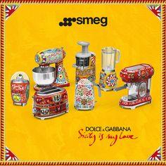 SMEG et Dolce&Gabbana !