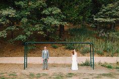 Romantic Lake Gregory Wedding captured by Daniel Cruz - via ruffled