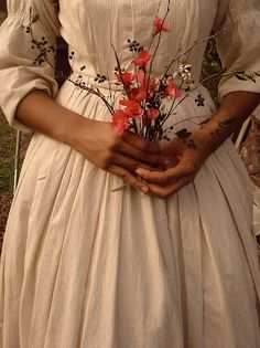 Plain Cotton Dress. Simple loveliness.