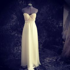 Fall Darling Gown wear grandmother's wedding gown in by TingBridal