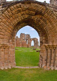Tynemouth Priory by geoff-e, via Flickr ~ UK