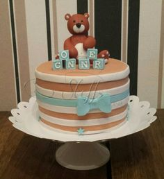 Welcome Baby Cake  Baby Shower