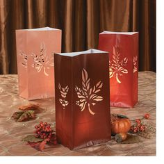 Fall Luminary Bags - Oriental Trading